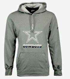 Dallas Cowboys Nike Circuit Train Speed Hoodie Large 878565  0a7265258c6b