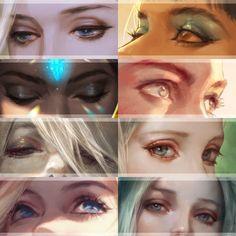 Amazing Learn To Draw Eyes Ideas. Astounding Learn To Draw Eyes Ideas. Art Sketches, Art Drawings, Eye Painting, Anime Eyes, Eye Art, Copics, Art Tutorials, Art Reference, Character Art
