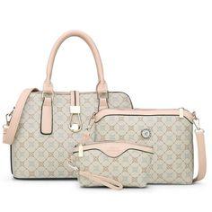 79872aae97 SUNNY SHOP3 Bag Set New Mother Handbag Brand Designer Women Bag Letter  Striped Fashion Femal Bags Shoulder Bags Gift For Mother