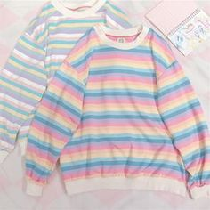 Discover recipes, home ideas, style inspiration and other ideas to try. Pastel Fashion, Kawaii Fashion, Cute Fashion, Fashion Outfits, Kawaii Clothes, Pastel Clothes, Aesthetic Fashion, Aesthetic Clothes, Aesthetic Sweaters