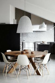 Bekijk de foto van sdikken met als titel mooie ronde tafel in de keuken en andere inspirerende plaatjes op Welke.nl.