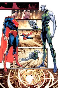 [Artwork] Superman vs Lex (Justice League by Jorge Jimenez & Alejandro Sanchez Comic Book Artists, Comic Book Characters, Comic Artist, Comic Books Art, Marvel Dc Comics, Dc Comics Art, Geek T Shirts, Dc Universe, Zack Snyder Justice League