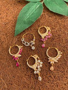 Nose Jewelry, Silver Jewelry, Nose Rings, Diamond Jewellery, Necklace Set, Chokers, Girly, Hoop Earrings, Brooch