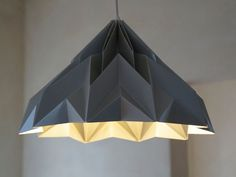MAKE A WISH Origami Paper Lampshade by Werkdepot