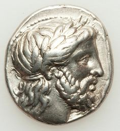 MACEDONIAN KINGDOM. Philip II (359-336 BC). AR tetradrachm (14.35 gm). Pella, ca. 342-336 BC. Laureate head of Zeus right / Jockey on horse right, holding palm branch; thunderbolt below.