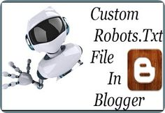 Today we are going to discuss about Custom Robots.txt file and How To Add Custom Robots.txt File In Blog it is very Important For SEO. You Know SEO Plays important Role in Search Engine. when you start a new Blog you need to make your blog optimized for search engine.