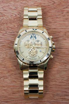 Love this elegant stainless steel Jivago watch