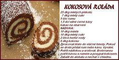 KOKŠOZA - pečení a vaření: CUKROVÍ - karty