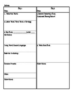 A planning sheet for Guided Reading Plus groups.  Use this lesson planning sheet to help stay organized for all of your Guided Reading Plus groups....