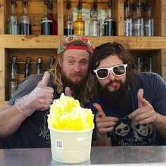The Nomadik Few GIANT shaved ice, just for you! By @thenomadikfew // yeahTHATgreenville