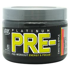 Optimum Nutrition Platinum Pre-Workout #ChampionSupplements