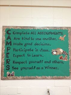 My camping classroom rules. My camping classroom rules. Forest Classroom, Classroom Rules, Classroom Door, Classroom Design, Kindergarten Classroom, Future Classroom, Classroom Themes, Classroom Activities, Outdoor Classroom