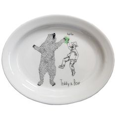 Browsing Store - Teddy Roosevelt Mini Oval Dish
