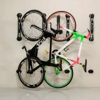Steadyrack+Wall+Mounted+Bike+Rack+Black.+The+Steadyrack+Bike+Rack+is+a+twist+on+an+old+problem,+how+to+easily+store+your+bike+and+take+up+as+little+room+as+possible. The+Steadyrack+attaches+to+your+wall+with+provided+hardware+and+your+bike+is+easily+stored+by+lifting+onto+it's+back+wheel+and+attached+to+holding+frame.+Once+bike+is+securely+held,+it+can+be+swiveled+to+one+side+to+take+up+minimum+space. Product+Features:  Safe+and+easy+to+use No+heavy+lifting+required Stores+bikes+with+t...