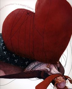 Red Passion by Rebecca Dautremer (1)