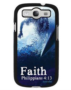 Faith Surfer Galaxy S3 Case - Christian Phone Cases for $19.99 | C28.com