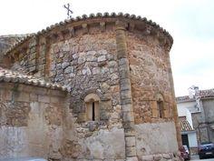 Ábside de la iglesia de Creceda (Guadalajara)