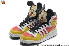 Buy Cheap Adidas X Jeremy Scott Mickey Shoes Sports Shoes Store