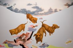 The following is a visual arts review by critic Matthew Bourbon, an artist and associate professor in the College of Visual Arts and Design at UNT. It airs today on KERA's All Things Considered. Raychael Stine's first solo exhibition, at Road Agent Gallery in Dallas, is playful and humorous. Stine offers a series of paintings […]