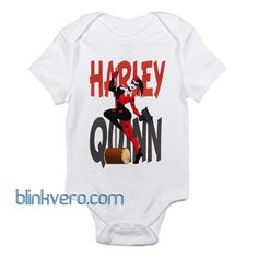 Harley Quinn Pinup Awesome Funny Baby Onesie Boy or Girl