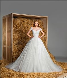 Stunning Wedding Dresses – Zuhair Murad's Bridal Collection 2015... Ultimate princess ball gown