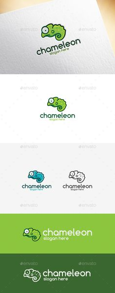 Chameleon Logo Template, app, brand, brand identity, business, cartoon, chameleon, color image, company, corporate, creative, cute, fun, green, leaf, lizard, logo, nature, reptile, resizable, simple, tree, unique, vector, web, wildlife