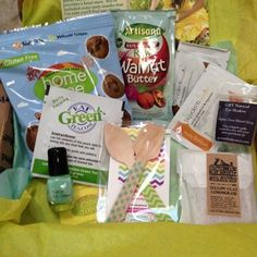 Eco-Emi ~ August 2013  I love the treats I get each month...trying samples of so many healthy products!