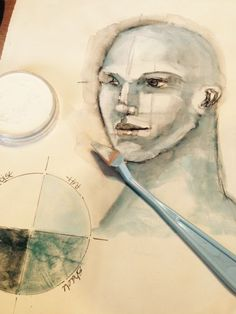Step-by-step #drawing lesson from #mixedmedia artist Pam Carriker!