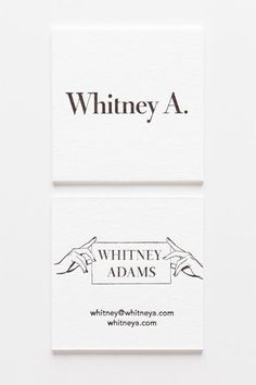 We're crazy about the striking simplicity of Whitney Adams' square beauties. For the all-important design decision, the actress, sommelier, and writer turned to the creative minds at Iron Curtain Press.