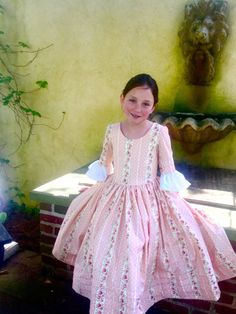 Custom Girls Colonial Dress sizes 10 12 & 14 by EmilyandIzzy