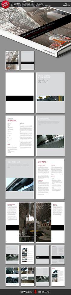 Elegant Brochure-Book Template by anderworks.deviantart.com