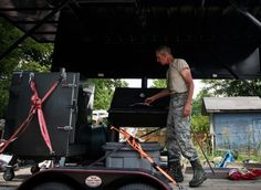 Taste of Success: Tech. Sgt. Todd Houghton's journey through first official Air Force barbecue challenge