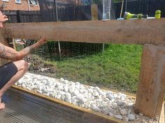 Mum makes stunning water feature for her garden using old bits of wood, glue and gravel Small Water Features, Outdoor Water Features, Water Features In The Garden, Garden Features, Diy Water Feature, Backyard Water Feature, Diy Garden Fountains, Indoor Water Fountains, Garden Pond