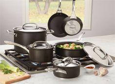 Amazon.com: Circulon Infinite Hard Anodized Nonstick 10-Piece Cookware Set: Kitchen & Dining