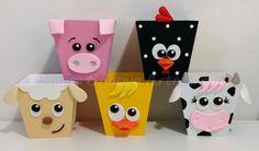 Farm Animal Party, Farm Animal Crafts, Farm Animal Birthday, Pig Crafts, Ladybug Crafts, Cowboy Birthday, Farm Birthday, Crafts For Kids, Felt Kids