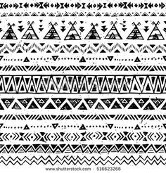 Find Black White Color Tribal Vector Seamless stock images in HD and millions of other royalty-free stock photos, illustrations and vectors in the Shutterstock collection. Vector Background, Background Patterns, Ethnic Patterns, Paper Cover, Black And White Colour, Fabric Paper, Geometric Art, Royalty Free Photos, Aztec