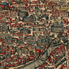 Matías Romano. lo elegí principalmente por que se ve claramente la distribución geográfica urbanística. se puede apreciar como pensaron la construcción de la ciudad  dependiendo los conflictos geográficos por el territorio presentes en aquella época.