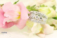 Stunning art-deco diamond ring, based in Nundah Village, North Brisbane Art Deco Diamond Rings, Diamond Engagement Rings, Fine Jewelry, Jewelry Making, Brisbane, Wedding Rings, Jewels, Jewerly, Jewellery Making