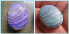 Polymer clay pebbles DIY ... http://carolcapaldicrafts.blogspot.com/2011/07/polymer-clay-pebbles.html#