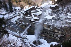 地獄谷野猿公 - Jigokudani Yaen Koen: In the valley of the snow monkeys.