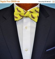 FLASH SALE Freedom Eagle Men's Bow Tie or Necktie on by BarryBeaux