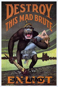 Vintage Advertising Posters | War