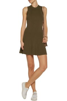 Shop on-sale A.L.C. Rory pleated ribbed-knit mini dress. Browse other discount designer Dresses & more on The Most Fashionable Fashion Outlet, THE OUTNET.COM