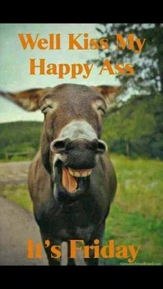 Kiss my Friday Happy Ass...JUST SAYING!!!