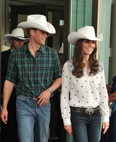 Prince William debuted a rodeo chic look in July 2011 while in | Treat Yourself to 30 Hot Prince William Pictures | POPSUGAR Celebrity Photo 3