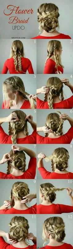 Step by step hairstyles for long hair Page 10 of 29 Hairstyle Monkey #braidedhairstylesstepbystep