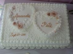 square wedding cakes Wedding Cakes Wedding Cakes Photos on WeddingWire Wedding Sheet Cakes, Square Wedding Cakes, Wedding Cake Photos, Wedding Cakes With Cupcakes, Wedding Cake Designs, Cupcake Cakes, Heart Shaped Wedding Cakes, Heart Shaped Cakes, Heart Cakes