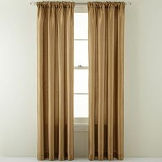 Royal Velvet® Encore Rod-Pocket/Back-Tab Curtain Panel - JCPenney
