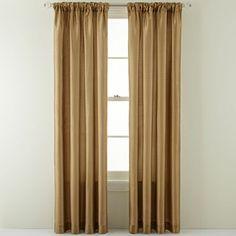 Royal Velvet® Encore Rod-Pocket/Back-Tab Curtain Panel - JCPenney