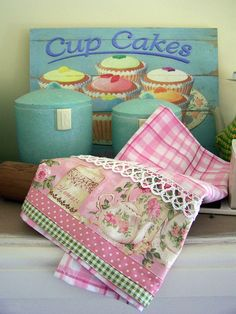 Cottage Roses and Vintage Chic by Created by Cath., via Flickr